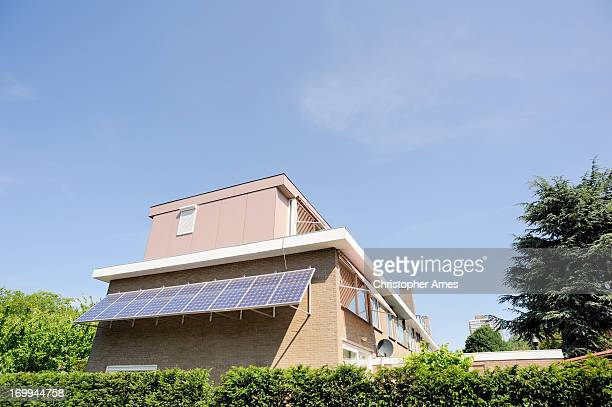 House with Photovoltaic Panel