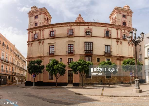 House with the four towers, Cadiz, Spain