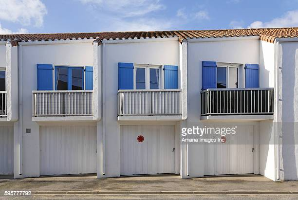 A House with Three Balconies, Noirmoutier, France