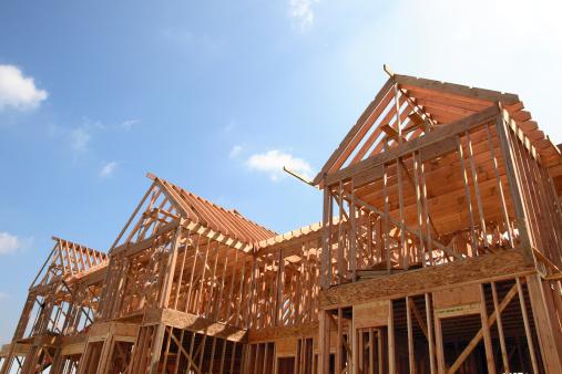 House Wooden Frame 140469314