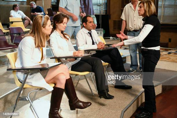 House You Don't Want to Know Episode 8 Pictured Anne Dudek as Dr Amber Volakis Olivia Wilde as Thirteen Peter Jacobson as Dr Chris Taub Director...