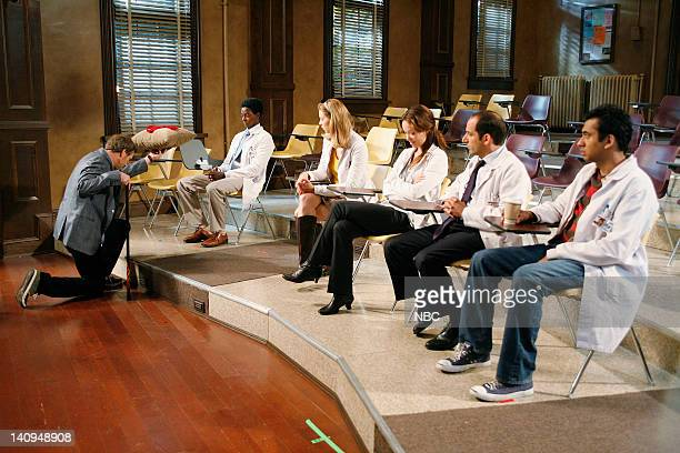 House You Don't Want to Know Episode 8 Pictured Hugh Laurie as Dr Greg House Edi Gathegi as Dr Jeffrey Cole Anne Dudek as Dr Amber Volakis Olivia...