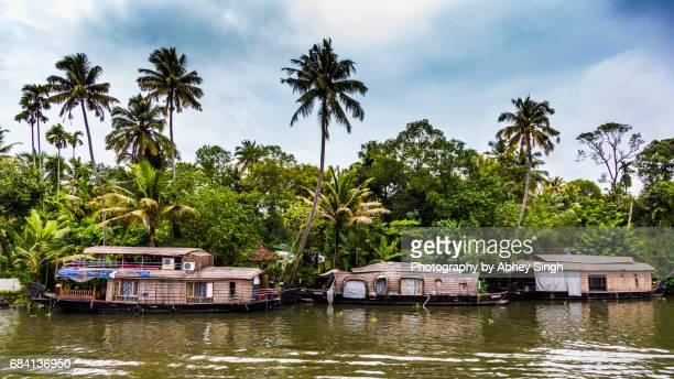 Houseboat, Backwaters, Alappuzha, Kerala, India