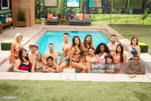 Houseguest of Big Brother 21 LR Jessica Milagros Christie Murphy Ovi KabirAnalyse Talvera David Alexander LR second row Kathryn Dunn Cliff Hogg Sam...