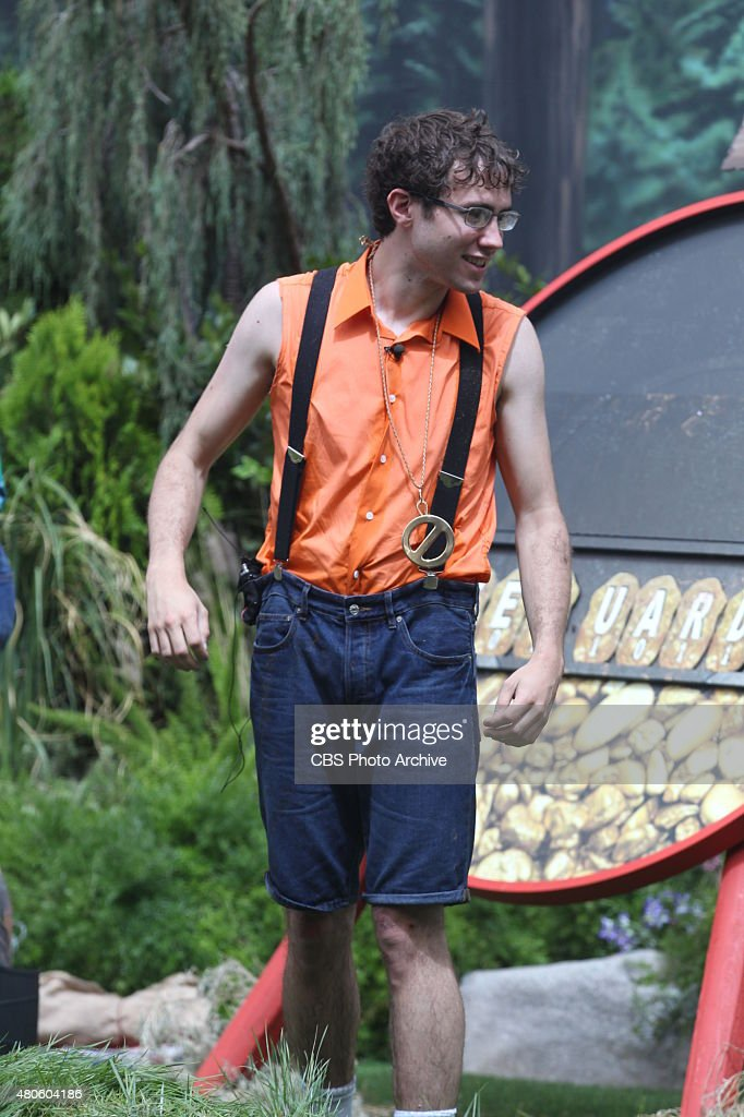 Houseguest Steve celebrates after winning the first Power of Veto competition, on BIG BROTHER, Wednesday, July 1 (8:00 --9:00 PM, ET/PT) on the CBS Television Network.