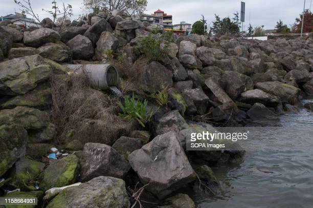 Household agricultural and hospital wastewater and sewage flow into the sea from different points Iran has a major contribution to the pollution of...