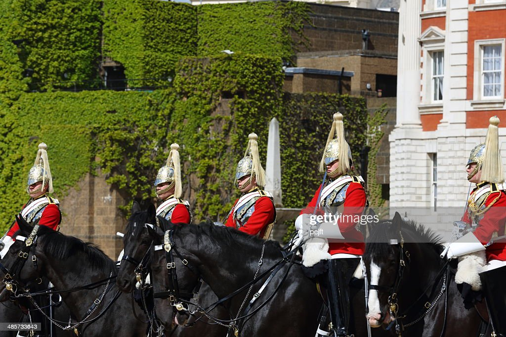 Household Cavalry - change of guards : Stockfoto