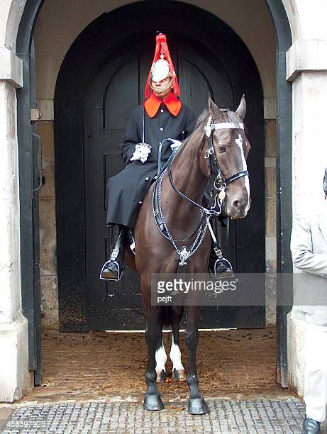 household cavalry - pejft stock-fotos und bilder
