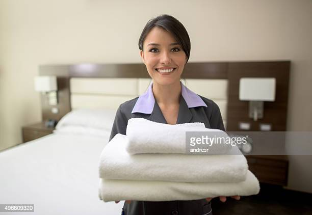 Housekeeping service at a hotel