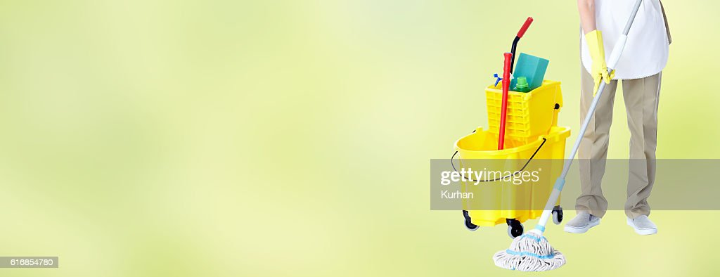 Housemaid. : Stock Photo