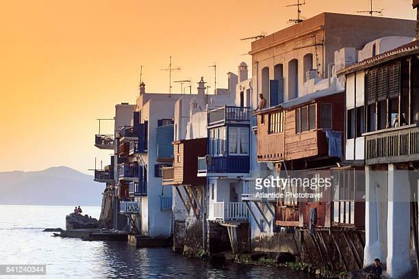 Houses Along Water in Little Venice