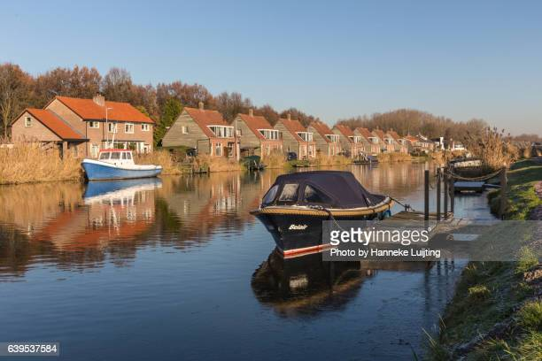 Houses and boats along the Rotte