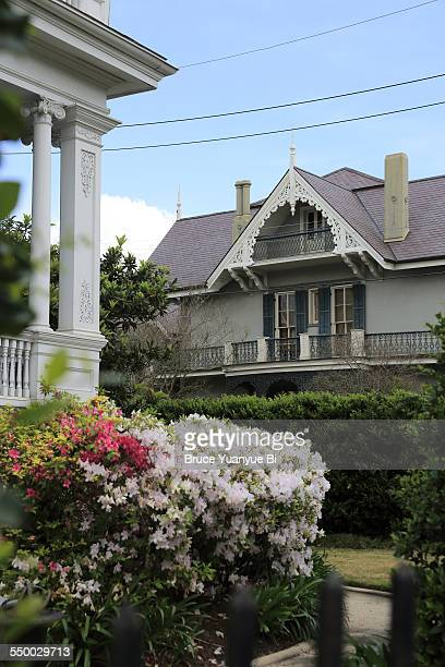 Houses and gardens in Garden District