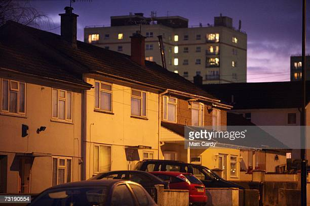 Houses and tower blocks on the Hartcliffe estate is seen at dusk February 2 in Bristol England Bristol City Council is one of 40 local authorities in...