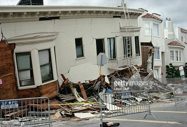 Houses Damaged by Earthquake