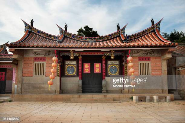 Houses from the Qing Dynasty to the early Republic of China period in the village of Shui Tou in Kinmen Quemoy Island The village has preserved the...