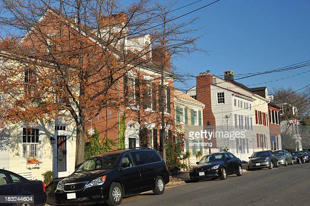 Houses in Alexandria of Virginia
