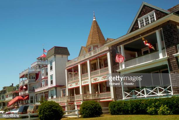houses in cape may - cape may stock pictures, royalty-free photos & images