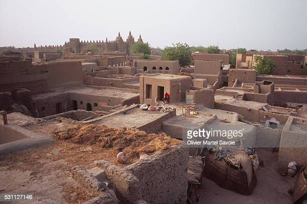 Houses in Djenne