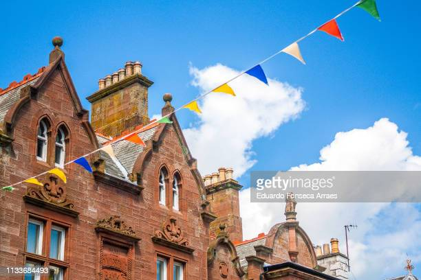 houses in dumfries - dumfries stock pictures, royalty-free photos & images