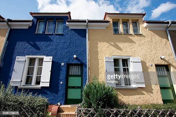 Houses In Falkenberg Garden City Part Of The Berlin Modernism Housing Estates Berlin Germany