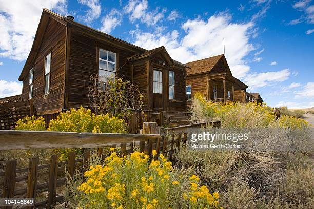 houses in ghost town - public domain stock pictures, royalty-free photos & images