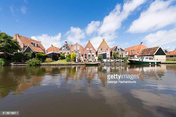 Houses in Hindeloopen