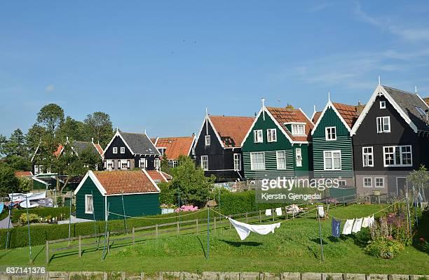Houses in Marken, The Netherlands