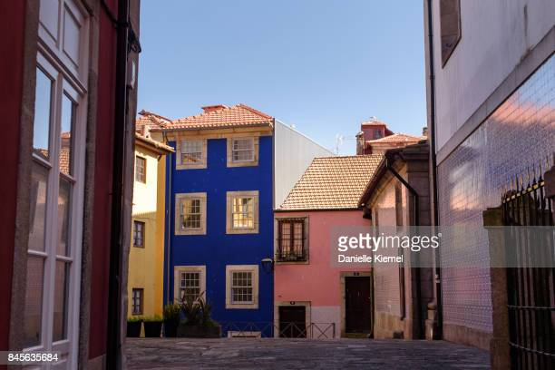 Houses in Ribeira District of Porto, Portugal