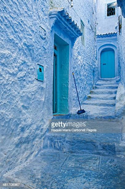 Houses in the blue medina