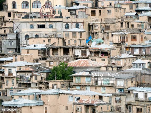 Houses of Kang, a traditional stepped village, Iran