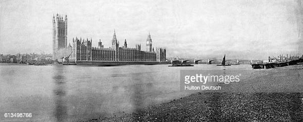 Houses of Parliament 1858