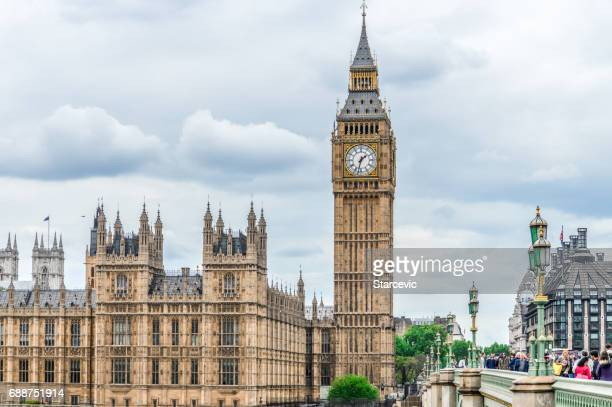Houses of Parliament and Big Ben - London, UK