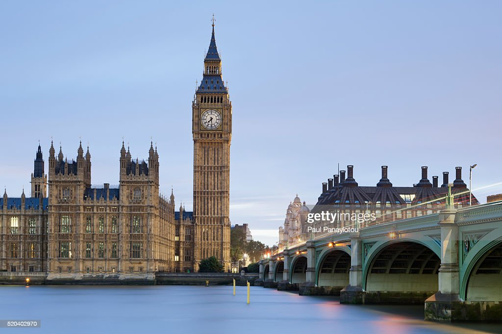 Houses of Parliament, London, England, UK : Stock Photo