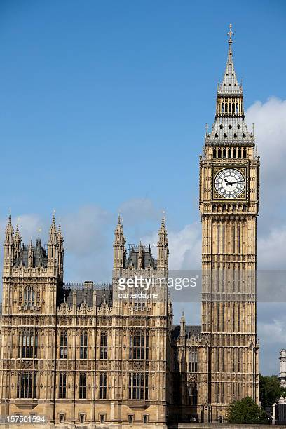 Houses of Parliament, London, UK with copy space