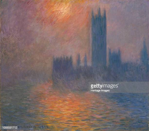 Houses of Parliament Sunset 19001901 Found in the Collection of Kunsthaus Zürich Artist Monet Claude