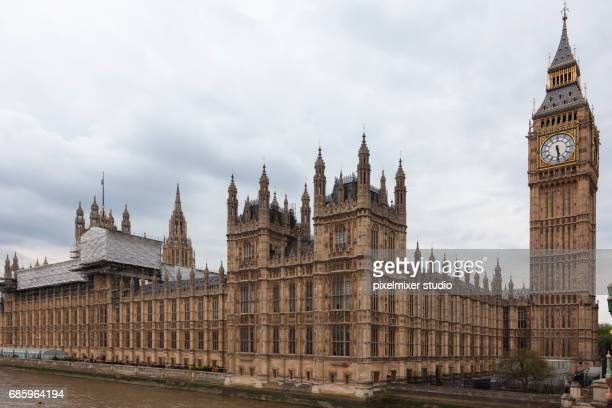 Houses of Parliament , view from London Bridge, London