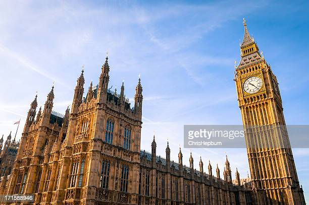 houses of parliament, westminster, london - parliament stock pictures, royalty-free photos & images