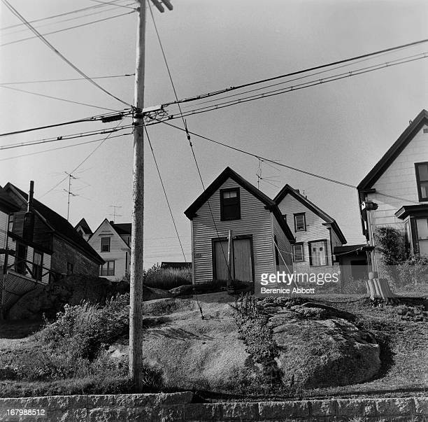 Houses on a US street 1967