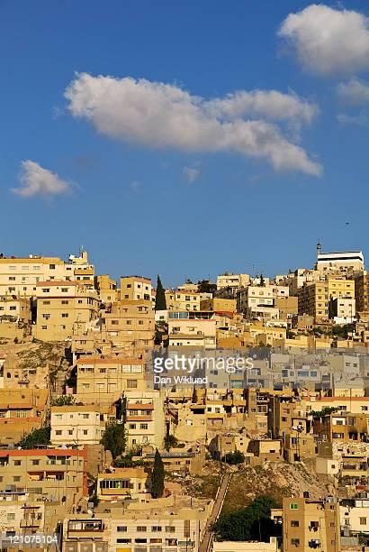 Houses on sloping hillsides, Amman
