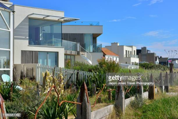 houses on the seafront - 19th century style stock pictures, royalty-free photos & images