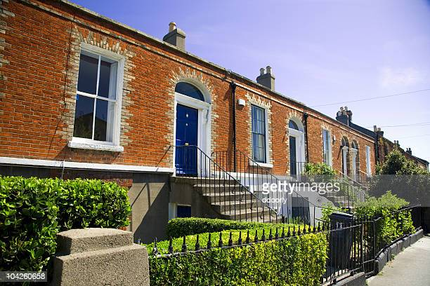 houses - dublin stock pictures, royalty-free photos & images