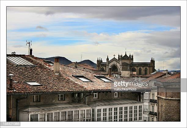 houses - vitoria spain stock pictures, royalty-free photos & images