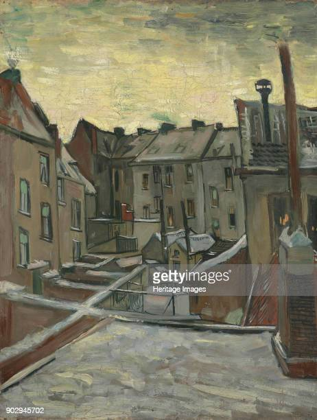 Houses Seen from the Back Antwerp Found in the Collection of Van Gogh Museum Amsterdam