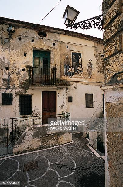 Houses with murals Diamante Calabria Italy