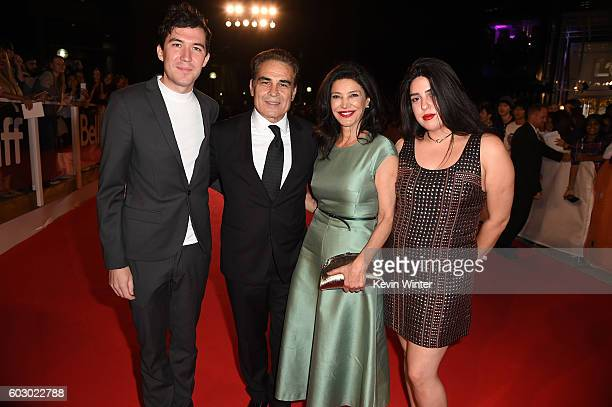 Houshang Touzie Actresses Shohreh Aghdashloo and Tara Touzie attend the The Promise premiere during the 2016 Toronto International Film Festival at...