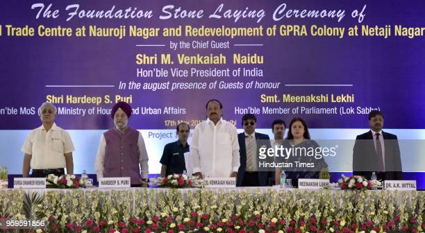 Housing and Urban Affairs Secretary of India Durga Shankar Mishra Union Minister of state of Housing and Urban Affairs Hardeep Singh Puri Vice...