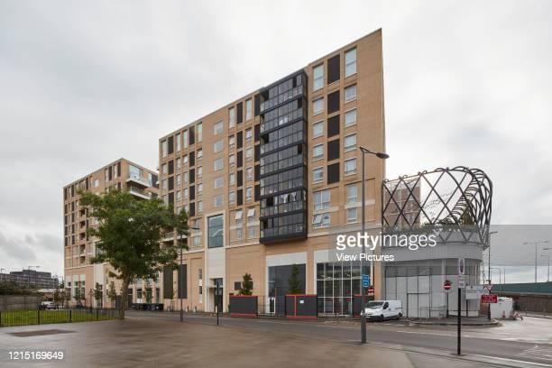 Housing blocks Canning Town London United Kingdom Architect N/A 2017