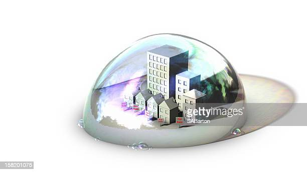 housing bubble on surface