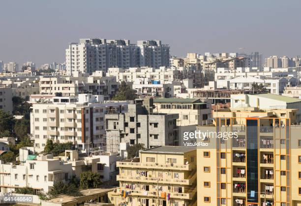 housing cluster, bangalore, india - bangalore stock pictures, royalty-free photos & images